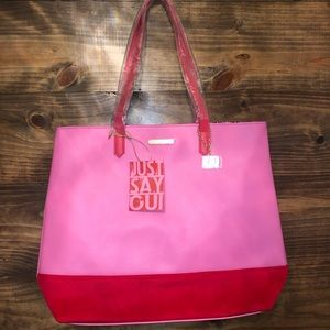 Juicy Couture Just Say Oui Tote NWT GWP